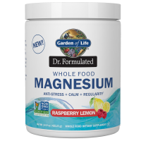 Whole Food Magnesium - Magnez + 3 szczepy bakterii (421.5 g) Garden of Life