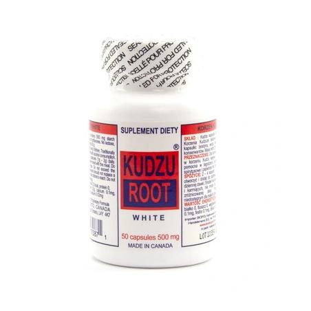 Korzeń Kudzu biały ekstrakt dla dzieci (50 kaps.) K&K Bio+