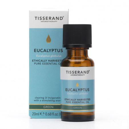 100% Olejek Eukaliptusowy (Eucalyptus) - Eukaliptus zbierany etycznie (20 ml) Tisserand