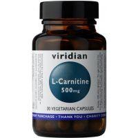 L-Karnityna - L-Carnitine 500 mg (30 kaps.) Viridian