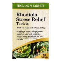 Rhodiola Stress Relief - Różeniec Górski (30 tabl.) Holland & Barrett