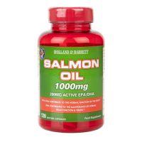 Salmon Oil - Olej z łososia 1000 mg (120 kaps.) Holland & Barrett