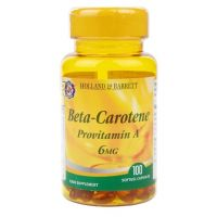 Beta Karoten - Prowitamina A 6 mg (100 kaps.) Holland & Barrett
