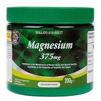 Magnesium - Magnez /cytrynian magnezu/ 375 mg (200 g) Holland & Barrett