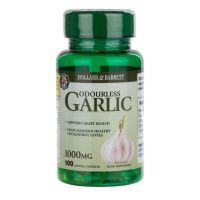 Odourless Garlic - Czosnek Bezzapachowy ekstrakt 500:1 (100 kaps.) Holland & Barrett