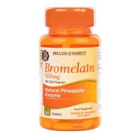 Bromelaina 600 GDU 500 mg (60 tabl.) Holland & Barrett