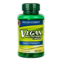 Vegan High Strength Multivitamin & Mineral - Zestaw Witamin i Minerałów (90 tabl.) Holland & Barrett