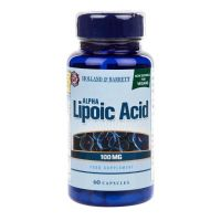 ALA - Kwas Alfa Liponowy 100 mg (60 kaps.) Holland & Barrett