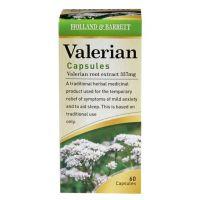 Valerian Root (Waleriana) - Kozłek Lekarski 337 mg (60 kaps.) Holland & Barrett
