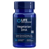 Vegetarian DHA - Kwas dokozaheksaenowy DHA 200 mg (30 kaps.) Life Extension
