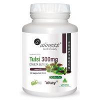 Tulsi - Bazylia Azjatycka (Święta Bazylia) 300 mg ekstrakt (90 kaps.) Aliness