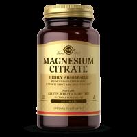 Magnesium Citrate - Cytrynian Magnezu 210 mg (120 tabl.) Solgar