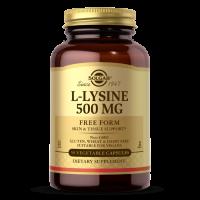 L-Lysine - L-Lizyna HCL 500 mg (50 kaps.) Solgar