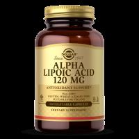 Alpha Lipoic Acid - Kwas Alfa Liponowy ALA 120 mg (60 kaps.) Solgar