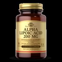Alpha Lipoic Acid - Kwas Alfa Liponowy ALA 200 mg (50 tabl.) Solgar
