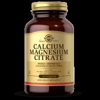 Calcium Magnesium Citrate - Wapń i Magnez (100 tabl.) Solgar