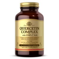 Quercetin Complex with Ester-C - Kwercetyna 500 mg + Witamina C + Bromelina + Acerola (100 kaps.) Solgar