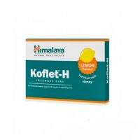 Koflet-H - Wsparcie układu oddechowego, smak cytrynowy (12 tabl.) Himalaya