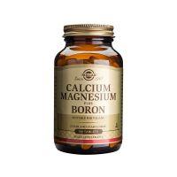 Calcium Magnesium plus Boron - Wapń, Magnez i Bor (100 tabl.) Solgar