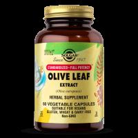 Olive Leaf extract - Oleuropeina standaryzowany Liść Oliwny (60 kaps.) Solgar
