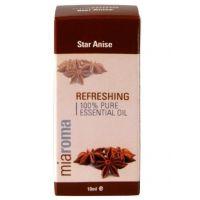 100% Olejek anyżowy - Miaroma Star Anise Pure Essential Oil (10 ml) Holland & Barrett
