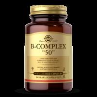 """B-Complex """"50"""" - Kompleks witamin B (50 kaps.) Solgar"""