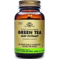 Green Tea Leaf Extract - Zielona Herbata ekstrakt 400 mg (60 kaps.) Solgar