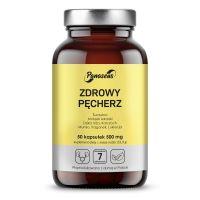 Zdrowy Pęcherz - Dzika róża + Żurawina + Mniszek + Karczoch + Traganek + Mumio (50 kaps.) Panaseus