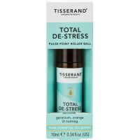 Total De-Stress Pulse Point Roller Ball - Geranium + Pomarańcza + Gałka muszkatołowa (10 ml) Tisserand