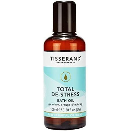 Total De-Stress Bath Oil - Olejek do kąpieli/ Geranium + Pomarańcza + Gałka muszkatołowa (100 ml) Tisserand