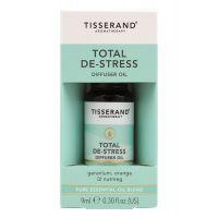 Total De-Stress Diffuser Oil - Geranium + Pomarańcza + Gałka muszkatołowa (9 ml) Tisserand