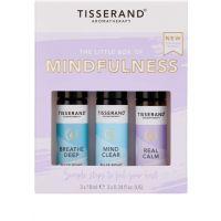 The Little Box of Mindfullness - Zestaw olejków eterycznych na wyciszenie (3x10 ml) Tisserand
