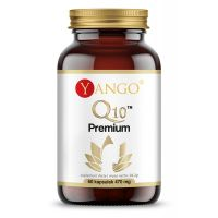 Q10 Premium - Koenzym Q10 + Kolagen + OPC + Kwas hialuronowy + Cynk (60 kaps.) Yango