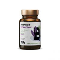 Vitamin B Complex - Kompleks witamin z grupy B (60 kaps.) Health Labs