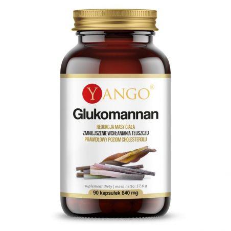 Glukomannan - korzeń Konjac (90 kaps.) Yango