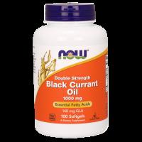 Black Currant Oil - Olej z Czarnej Porzeczki 1000 mg (100 kaps.) NOW Foods