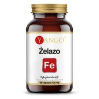 Żelazo - Diglicynian żelaza 100 mg (90 kaps.) Yango
