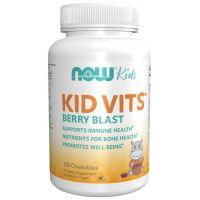 Kid Vits - Witaminy i minerały dla dzieci (120 tabl.) NOW Foods