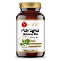 Pokrzywa - ekstrakt z liści 410 mg (90 kaps.) Yango