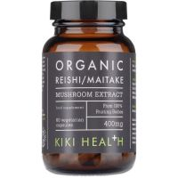 Reishi / Maitake - Mieszanka grzybów witalnych (60 kaps.) Kiki Health