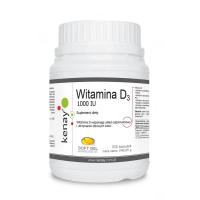 Witamina D3 1000 IU /cholekalcyferol/ 25 mcg (300 kaps.) Kenay