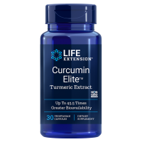 Curcumin Elite Turmeric Extract - Kurkuma Ekstrakt (30 kaps.) Life Extension