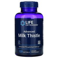 Advanced Milk Thistle - Ostropest Plamisty (120 kaps.) Life Extension