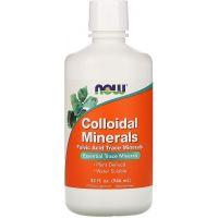 Minerały Koloidalne (946 ml) NOW Foods