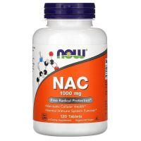 NAC - N-Acetylo-L-Cysteina 1000 mg (120 tabl.) NOW Foods