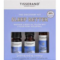 Sleep Better Discovery Kit - Zestaw olejków eterycznych na dobry sen (2 x 9 ml, 1 x 10 ml) Tisserand