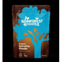 BIO Spirulina zielona (200 g) Rainforest Foods