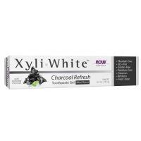 Pasta do zębów Węgiel drzewny - XyliWhite Charcoal Refresh Toothpaste Gel with Mint Flavor (181 g) NOW Foods