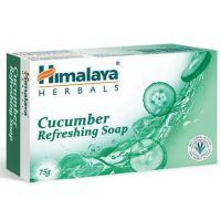 Cucumber Refreshing Soap - Odświeżajace mydło z ogórkiem (75 g) Himalaya