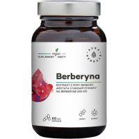 Berberyna - ekstrakt standaryzowany z kory Berberis (60 kaps.) Aura Herbals